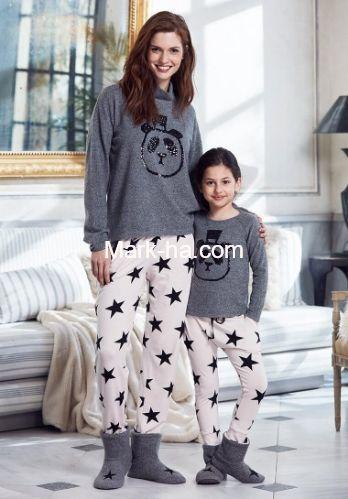 Penye Mood 8212 Bayan Pijama Takım