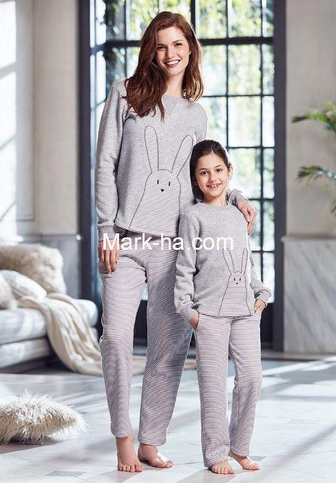Penye Mood 8219 Çocuk Pijama Takım