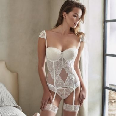 Picture for category BRIDAL BUSTIER SETS