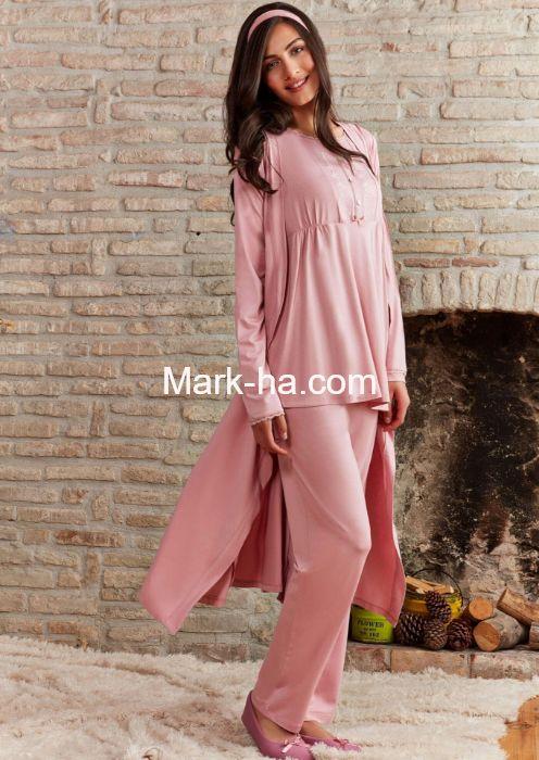 Pierre Cardin PC7287 Hamile Ve Lohusa 3'lü Pijama Takım