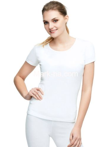 Us Polo 15069 Bayan Termal Kısa Kol Tişört