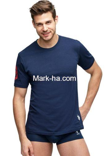 US Polo 80150 Erkek Yuvarlak Yaka Tişört