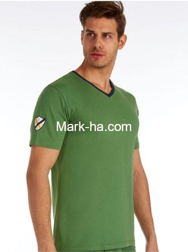 US Polo 80151 Erkek V Yaka Tişört