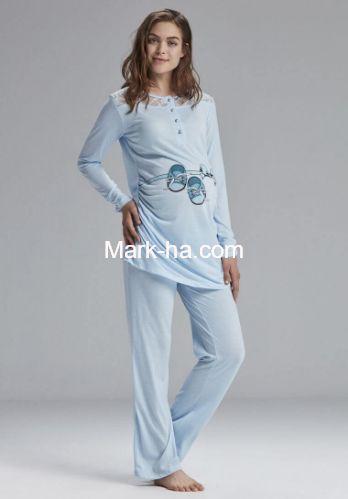 Catherine's 809-3 Hamile ve Lohusa Pijama Takım