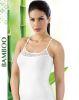 Lüx Drm 3610 Bambu Dantelli İp Askılı Atlet