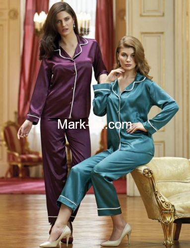 Nurteks Saten Pijama Takım 5656