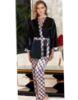 Jeremi Saten Üçlü Pijama Takım 3060