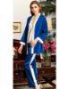 Jeremi Saten Üçlü Pijama Takım 3071