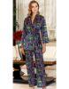 Jeremi Saten Üçlü Pijama Takım 3073