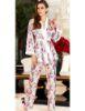 Jeremi Saten Üçlü Pijama Takım 3094