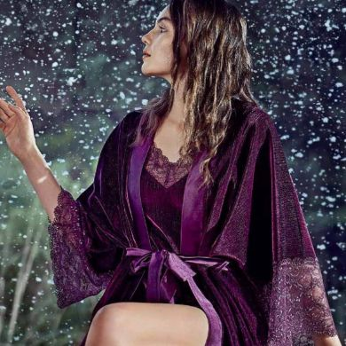 Picture for category Velvet Nightgown Set