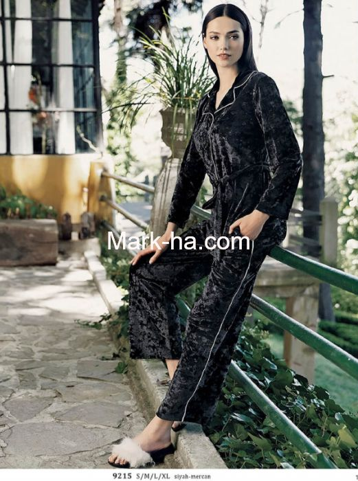 Artış Kadife Pijama Takım 9215