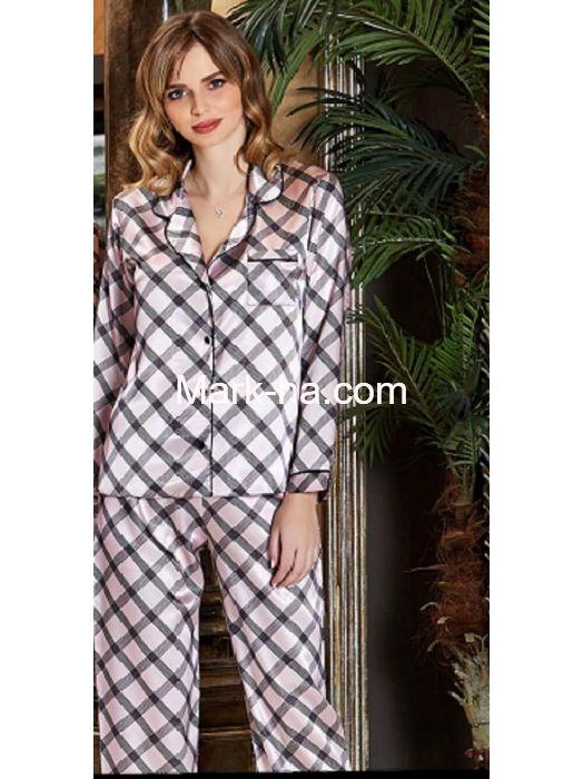 Jeremi Saten Pijama Takım 3186