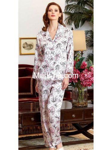 Jeremi Saten Pijama Takım 3230