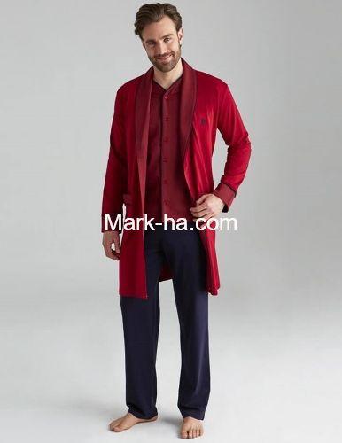 Us Polo Penye Ropdöşambır 5'li Erkek Takım 12001