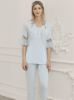 Perin Lohusa Üçlü Pijama Takım 316