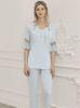 Perin Lohusa Üçlü Pijama Takım 316-2