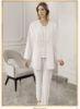 Perin Lohusa Üçlü Pijama Takım 317
