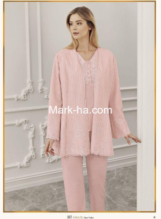 Perin Lohusa Üçlü Pijama Takım 317-2