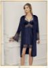 Perin Velvet Nightgown Set 4012-2