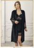 Perin Velvet Nightgown Set 4012-3