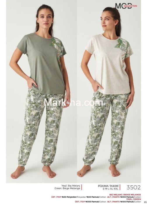 Mod Collection  Pijama Takım 3502