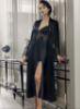 6 Pcs Satin Nightgown Set Perin 9200