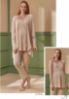 Feyza Sabahlıklı Hamile Lohusa Pijama Takım 4272