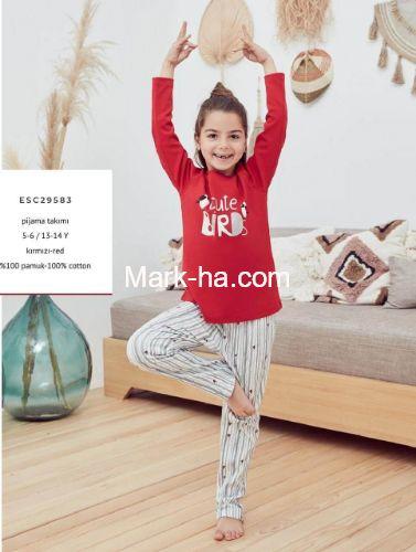 Eros Kız Çocuk Pijama Takım ESC29583