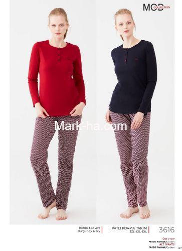 Mod Collection Büyük Beden Pijama Takımı 3616