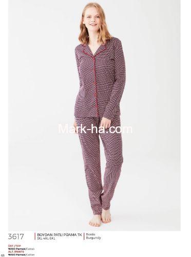 Mod Collection Büyük Beden Pijama Takımı 3617