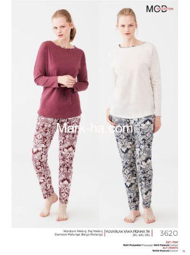 Mod Collection Büyük Beden Pijama Takımı 3620