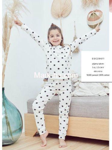 Eros Kız Çocuk Pijama Takım ESC29611
