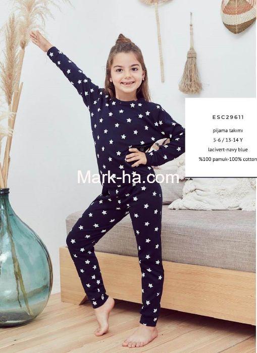 Eros Kız Çocuk Pijama Takım ESC29611-3