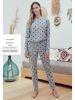 Eros Kız Çocuk Pijama Takım ESC29611-2