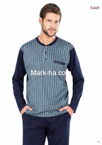 Pierre Cardin Erkek Pijama Takımı 5469-3