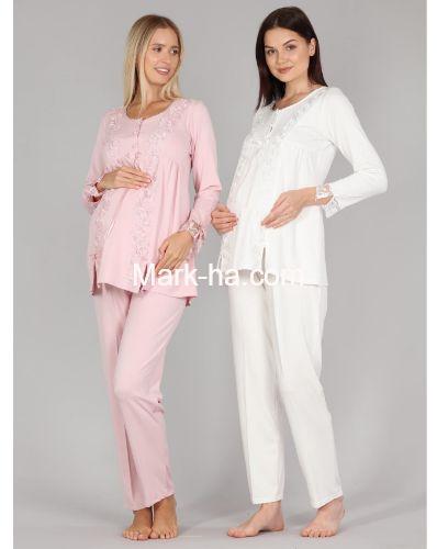 Bone Club Hamile Pijama Takım 5309