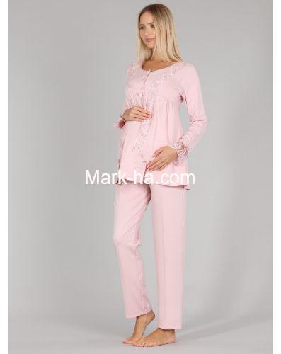Bone Club Hamile Pijama Takım 5309-2
