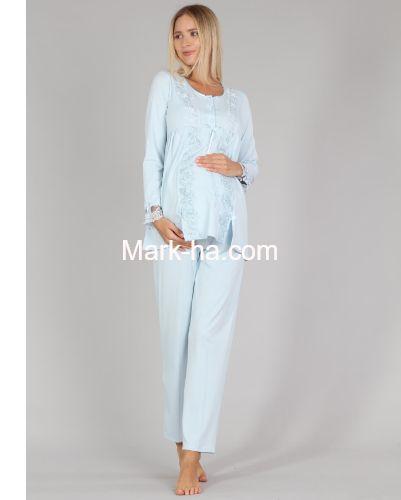 Bone Club Hamile Pijama Takım 5309-3