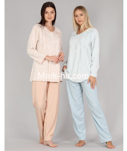 Bone Club Büyük Beden Pijama Takım 5338