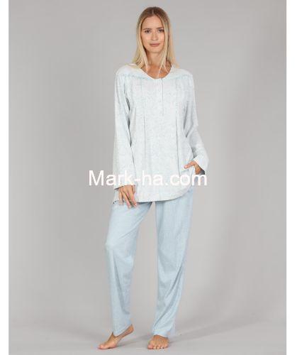 Bone Club Büyük Beden Pijama Takım 5338-2