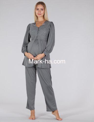 Bone Club Hamile Pijama Takım 5306-2