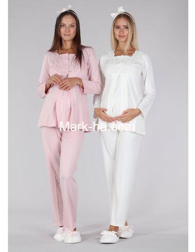 Bone Club Hamile Pijama Takım 5328