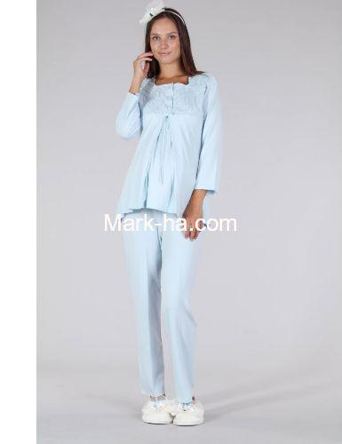 Bone Club Hamile Pijama Takım 5328-2