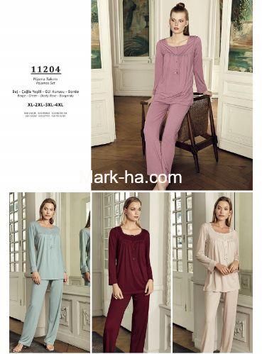 Artış Büyük Beden Pijama Takım 11204