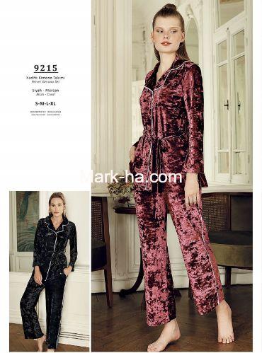 Artış Kadife Pijama Takım 9215-2